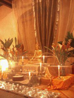 Recinto del Centro budista de la Cd. de Mexico